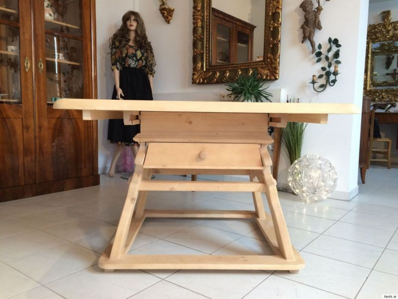 Bäuerlicher Tisch Jogltisch Bauerntisch Fichte Bauernmöbel - A1011