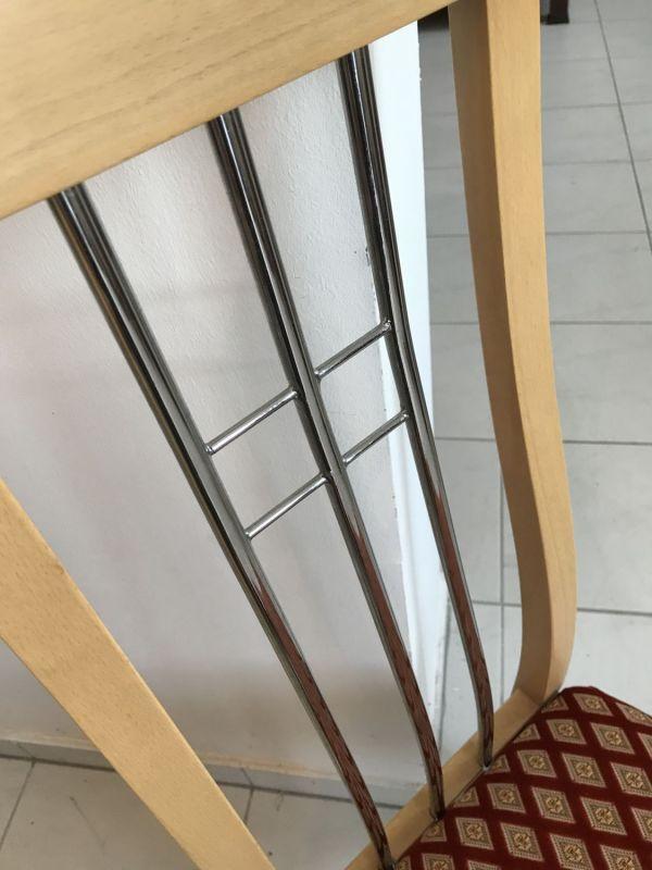 6 Stück restaurierte Stilsessel Esszimmerstühle W2241 0