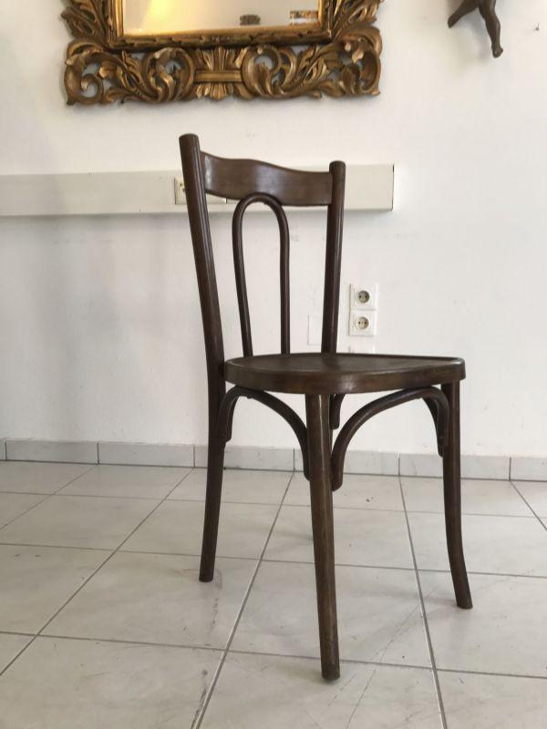 Thonet Stuhl Sessel Schreibtisch Sessel restauriert W2207