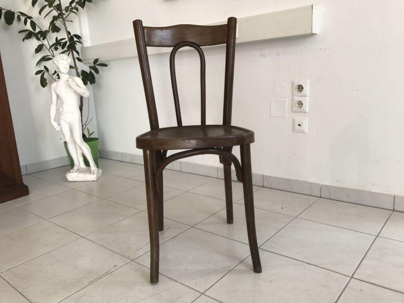 Thonet Stuhl Sessel Schreibtisch Sessel restauriert W2207 3