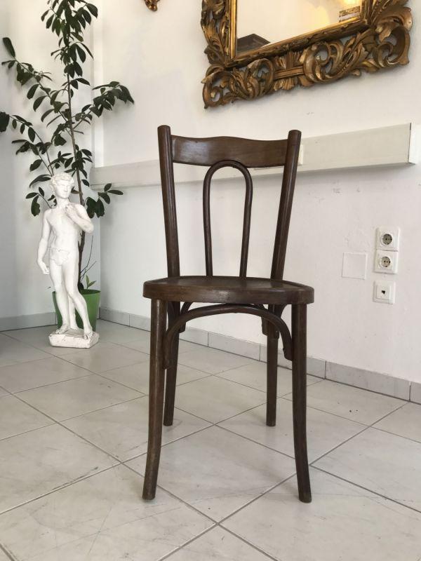 Thonet Stuhl Sessel Schreibtisch Sessel restauriert W2207 4