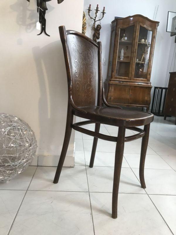 Eleganter Sessel Stuhl Jugendstil Thonet W3069