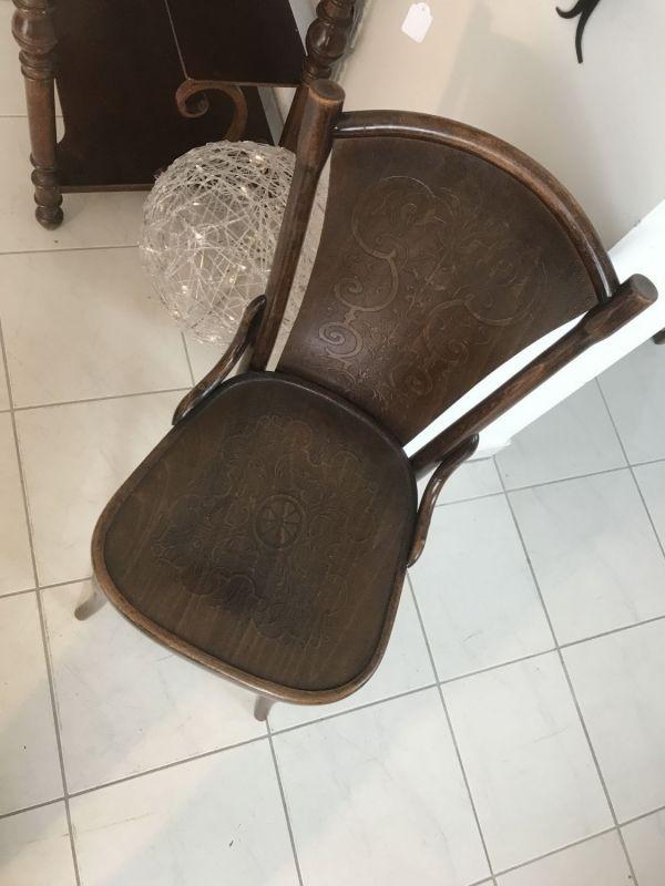 Eleganter Sessel Stuhl Jugendstil Thonet W3069 2