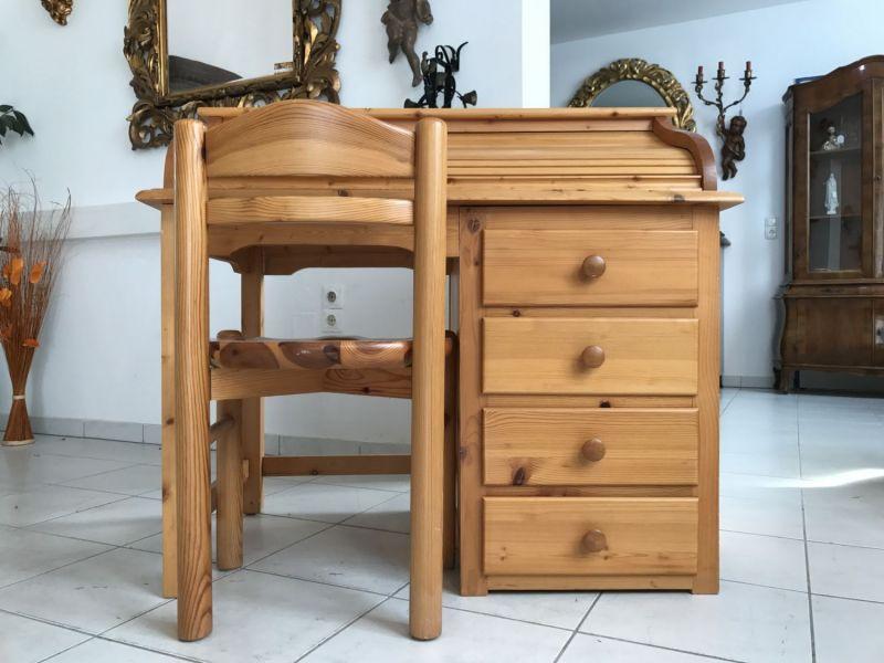 Hübscher neuzeitlicher Schreibtisch mit Sessel , Sekretär mit Stuhl W3066 0