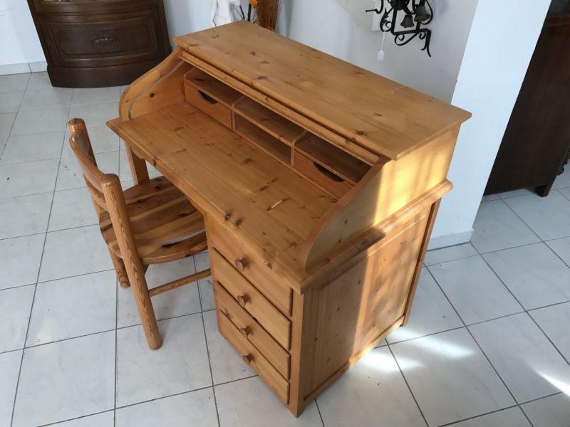 Hübscher neuzeitlicher Schreibtisch mit Sessel , Sekretär mit Stuhl W3066 5