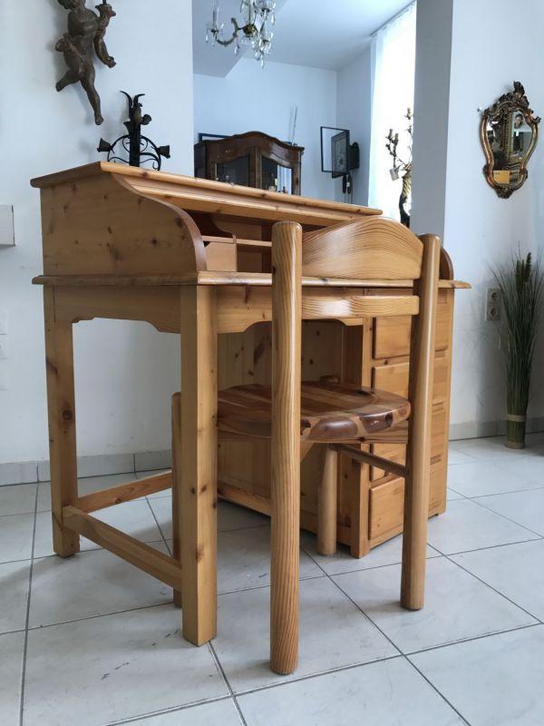 Hübscher neuzeitlicher Schreibtisch mit Sessel , Sekretär mit Stuhl W3066 6