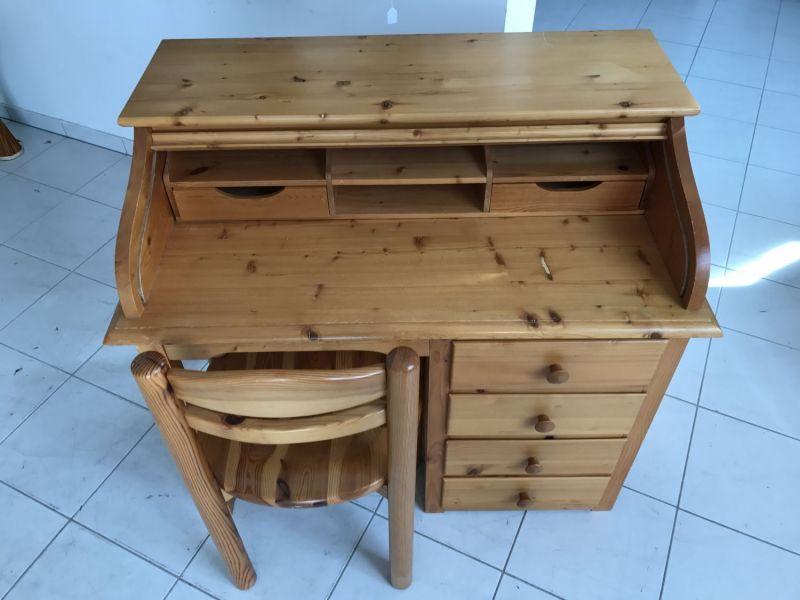 Hübscher neuzeitlicher Schreibtisch mit Sessel , Sekretär mit Stuhl W3066 8