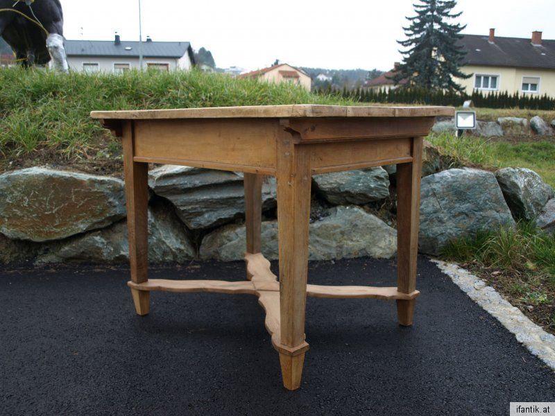 Burgenländer Jogltisch Bauerntisch Massivholz Landhaustisch Tisch Nr.6188