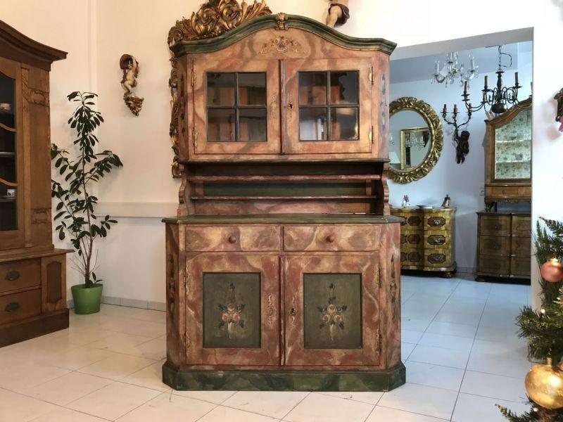 Bad und k chenm bel antik bequem online kaufen und verkaufen for Alte vitrinenschra nke