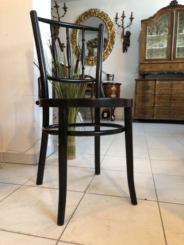 Eleganter Sessel Stuhl Jugendstil Thonet Bugholzmöbel X1124