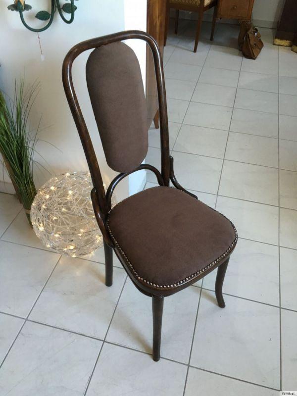 Thonet Stuhl Sessel Schreibtisch Sessel restauriert A1351