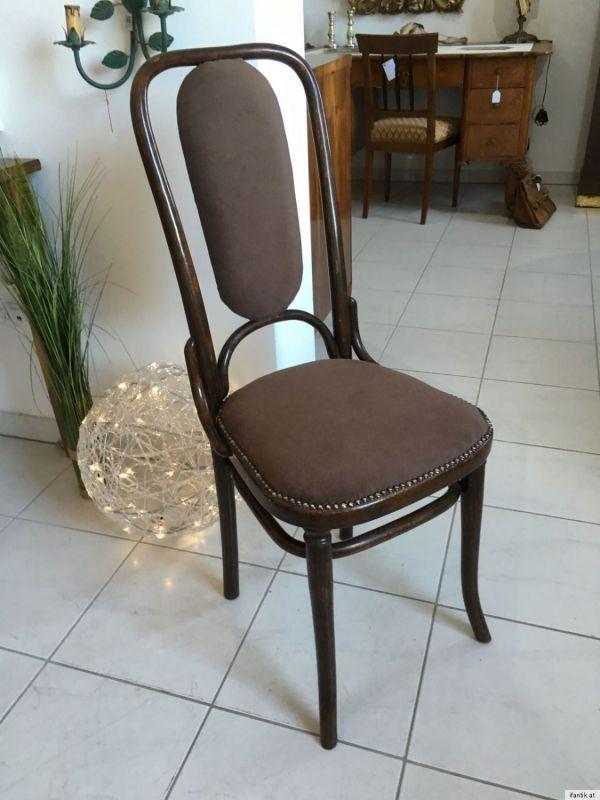 Thonet Stuhl Sessel Schreibtisch Sessel restauriert A1351 1