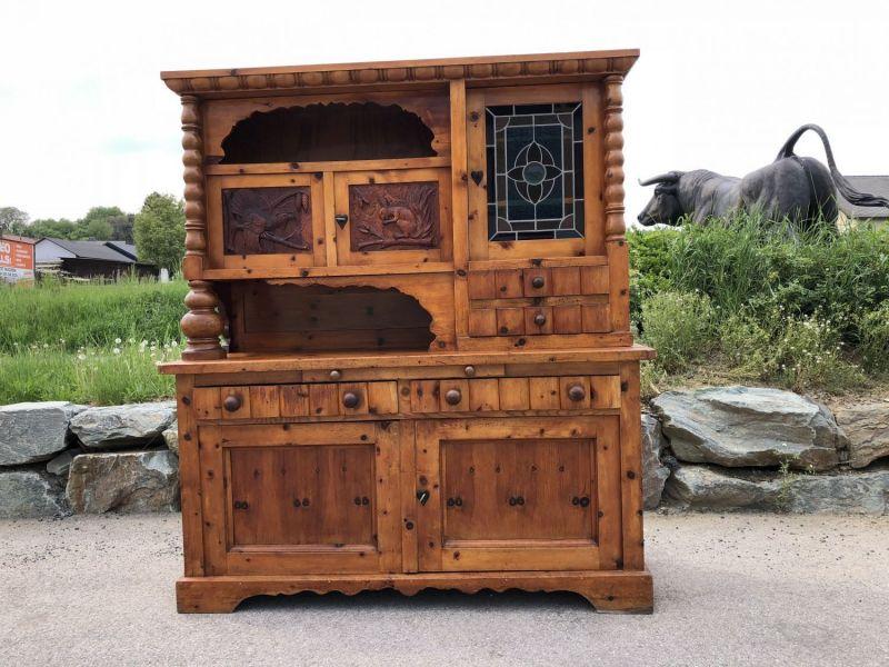 Massives  Zirbenholz Kredenz Bauernschrank Küchenschrank Buffet - X1587