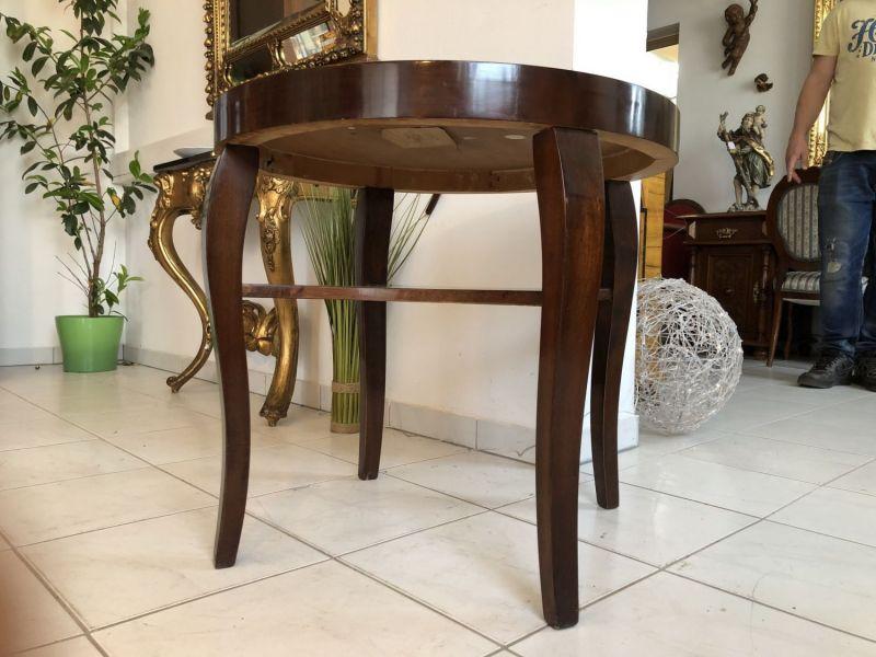 Runder Art Deco Tisch Esstisch Beistelltisch  Esstisch X1574