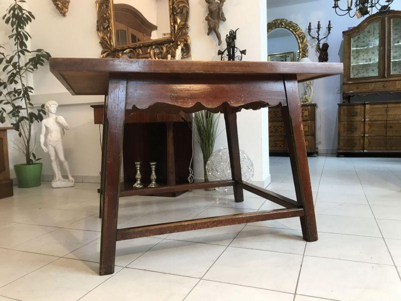 Einfacher Tisch Beistelltisch Bauerntisch Landhaustisch Bauernmöbel W3362