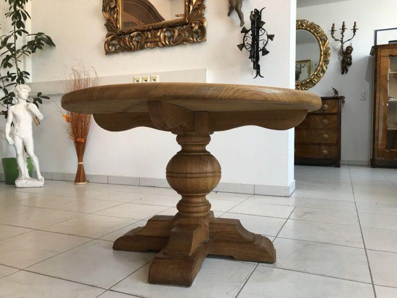Massiver Couchtisch Wohnzimmertisch Eichenholz Glastisch W3329