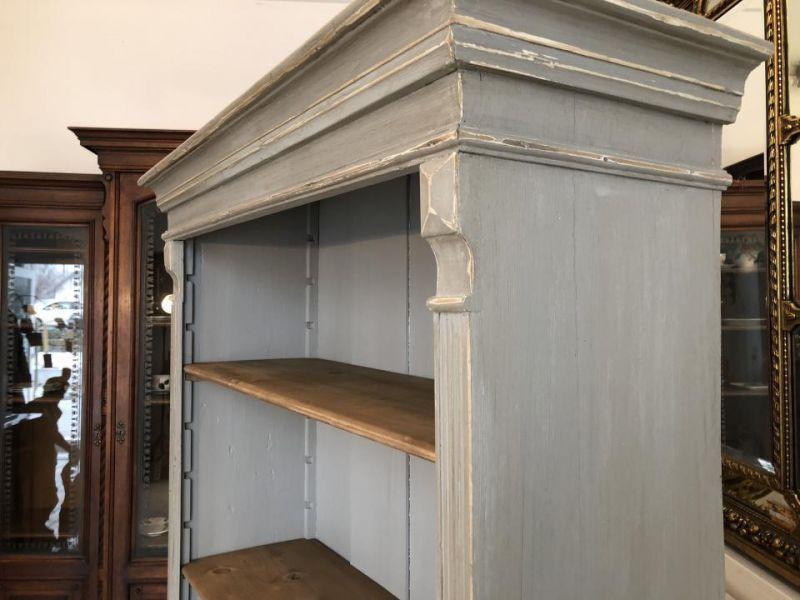 Massives Bücherregal Stellage Gründerzeit Bücherschrank Naturholzmöbel X1324 3