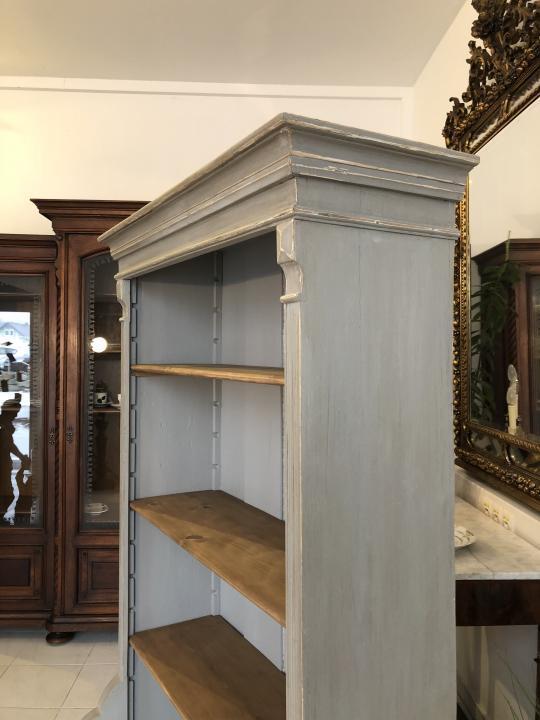 Massives Bücherregal Stellage Gründerzeit Bücherschrank Naturholzmöbel X1324 5