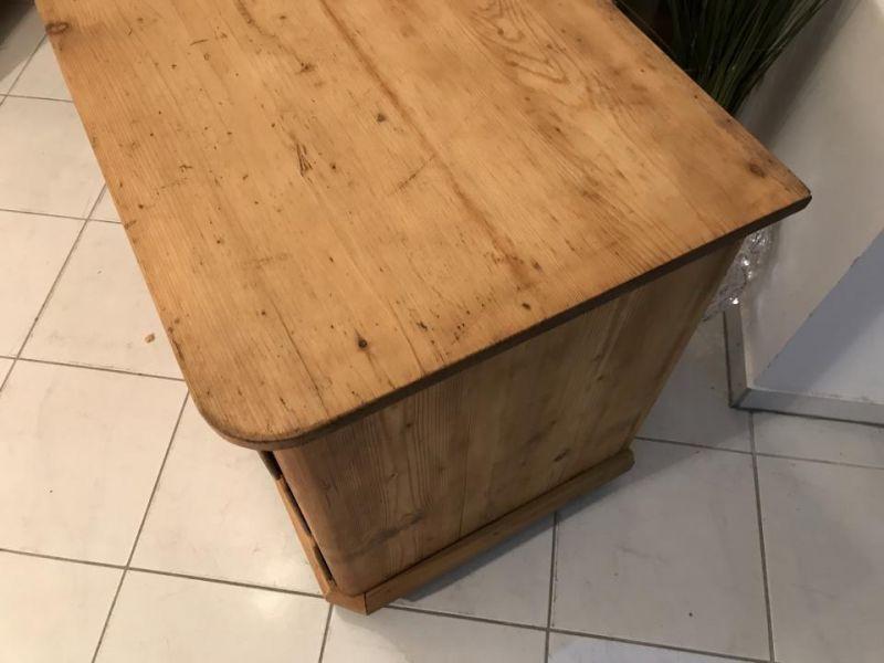 Original 3 Ladenkommode Kommode Fichtenholz  Biedermeier - W3370 1