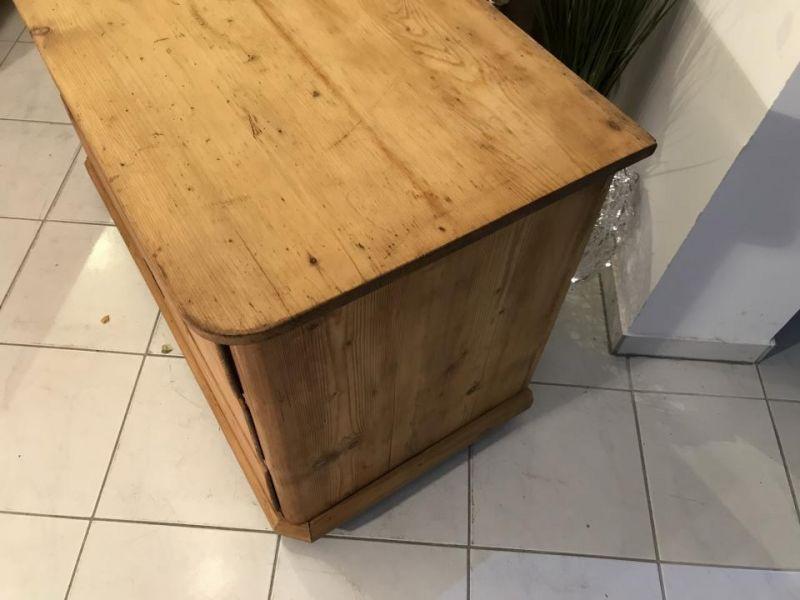 Original 3 Ladenkommode Kommode Fichtenholz  Biedermeier - W3370 6