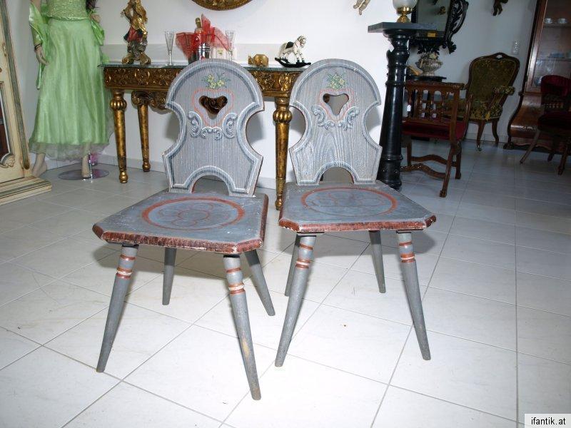 Bauernsessel Sessel Stuhl Bauernmöbel handbemalt Nr 6317 0