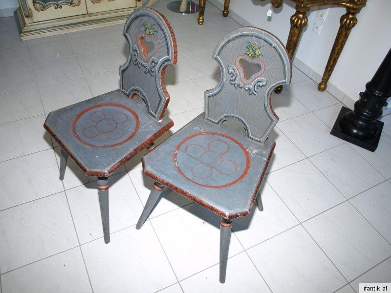 Bauernsessel Sessel Stuhl Bauernmöbel handbemalt Nr 6317 3