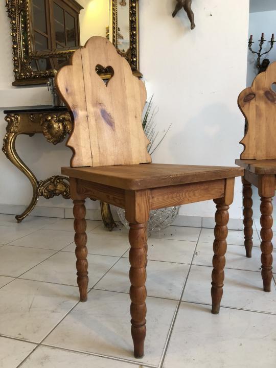 Uriger Bauernsessel Sessel Stuhl Herzerlsessel Zirbenholz X1753