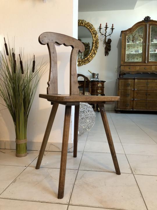 Uriger alter Bauernsessel Sessel Stuhl Kaminstuhl Küchensessel X1135