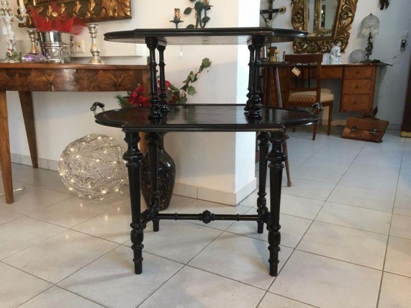 Gründerzeit Serviertisch Frühstückstisch Stocktisch Designertisch A1693