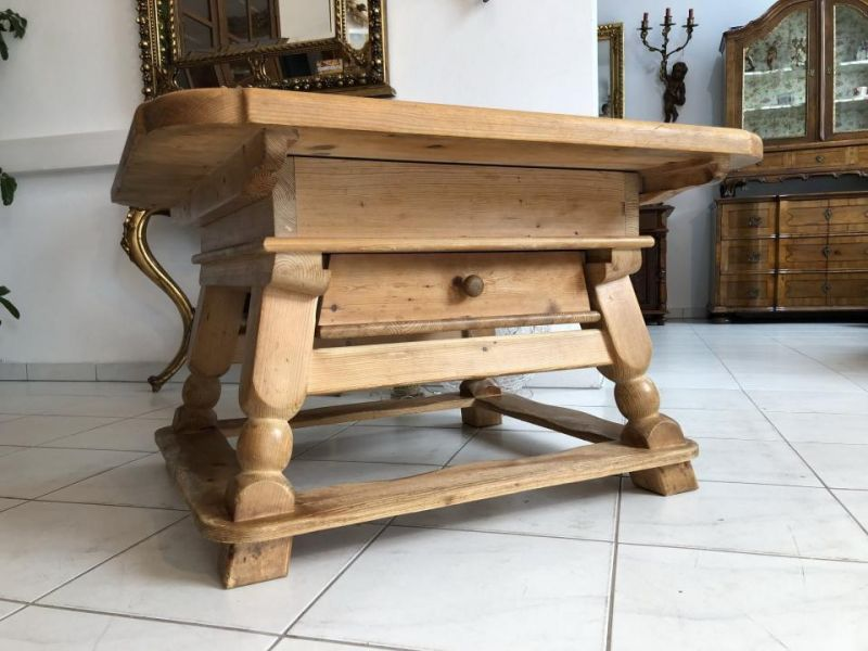 Jogtisch Naturholz  Couchtisch Tisch Landhausmöbel Traumstück X1875