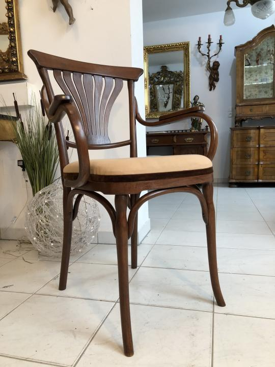 Thonet Stuhl Sessel Schreibtisch Armlehn Sessel Bugholzmöbel X1849 0