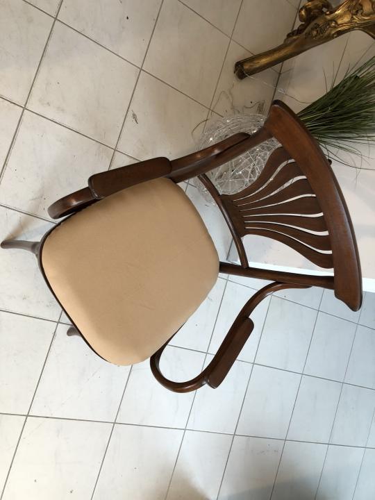 Thonet Stuhl Sessel Schreibtisch Armlehn Sessel Bugholzmöbel X1849 1