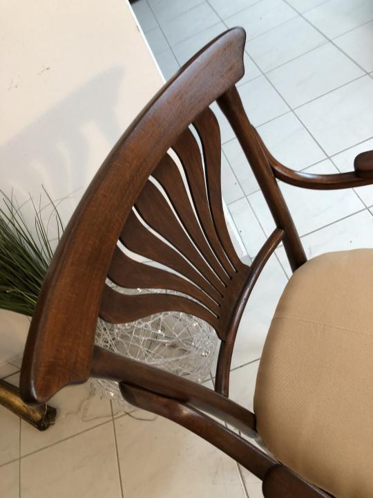 Thonet Stuhl Sessel Schreibtisch Armlehn Sessel Bugholzmöbel X1849 3