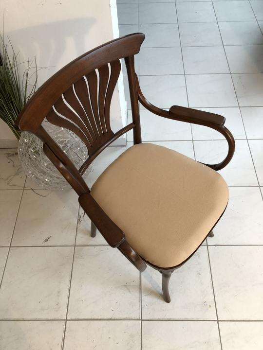 Thonet Stuhl Sessel Schreibtisch Armlehn Sessel Bugholzmöbel X1849 4