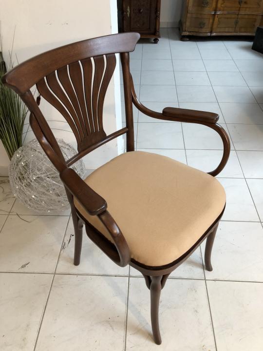 Thonet Stuhl Sessel Schreibtisch Armlehn Sessel Bugholzmöbel X1849 5