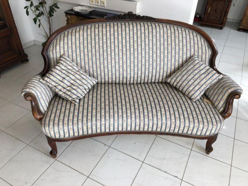 Hübsches originales Spätbiedermeier Sofa Diwan Couch X1499