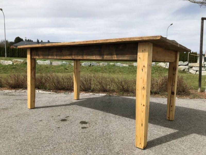 Uriger Tisch Bauerntisch Jogltisch Landhaustisch Naturholz Brettholztisch 1,80m