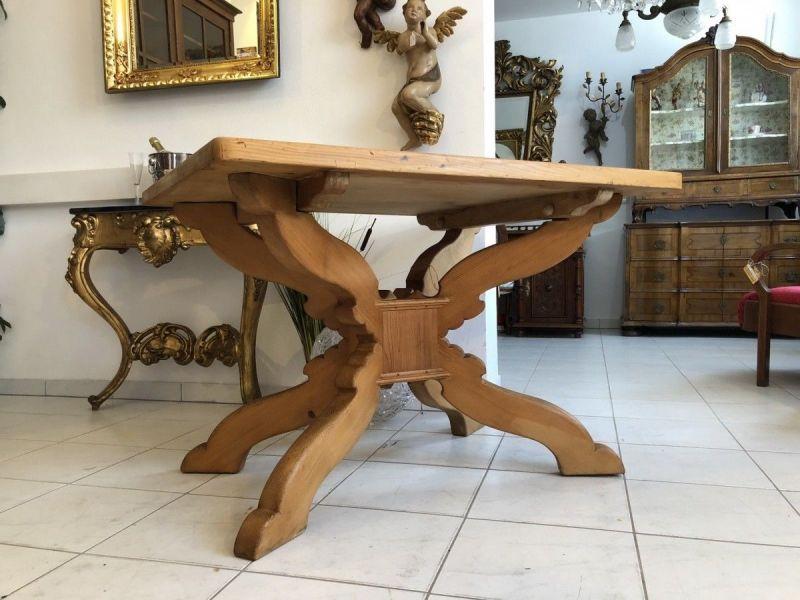 Alter Bauerntisch Tisch Landhaustisch Fichtenholz X1996