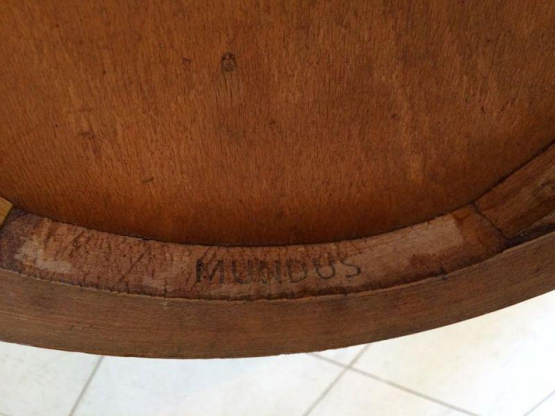 Mundus Stuhl Sessel Schreibtisch Sessel Originalstück A1185 2