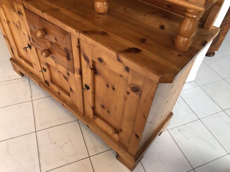Küchenbuffet Küchenschrank Zirbenholz Kasten X2370 2