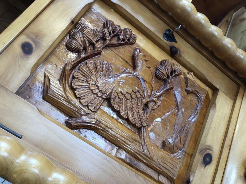 Küchenbuffet Küchenschrank Zirbenholz Kasten X2370 4