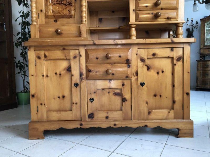 Küchenbuffet Küchenschrank Zirbenholz Kasten X2370 8