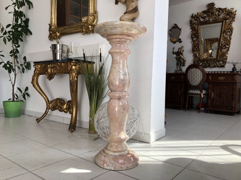 Wunderschöne Marmor Postament Säule Podest X2112