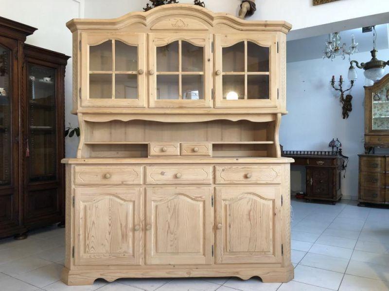Hübsches Küchenbuffet Küchenschrank Vitrine Landhausmöbel X1487