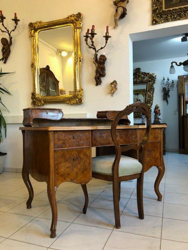 Originaler Biedermeier Schreibtisch Damenschreibtisch Z1051 1