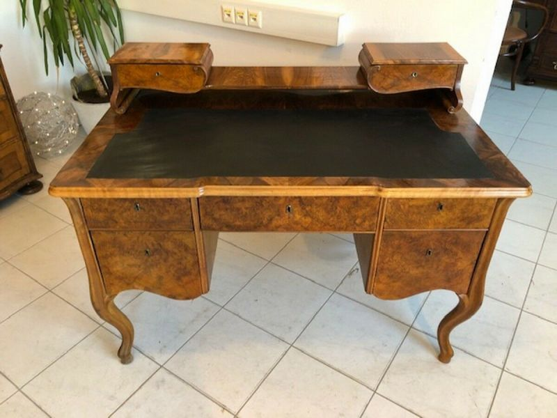 Originaler Biedermeier Schreibtisch Damenschreibtisch Z1051 10