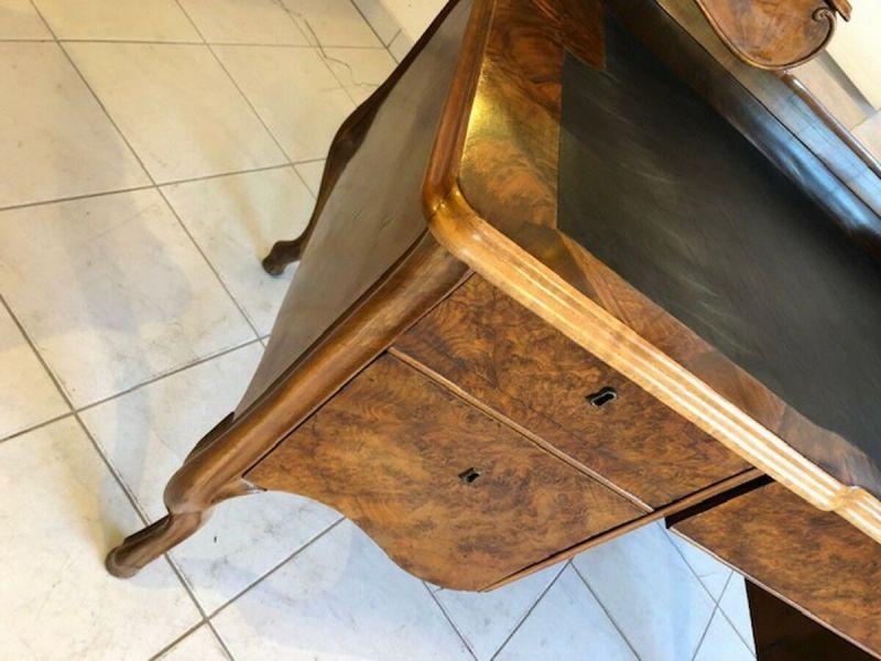 Originaler Biedermeier Schreibtisch Damenschreibtisch Z1051 7