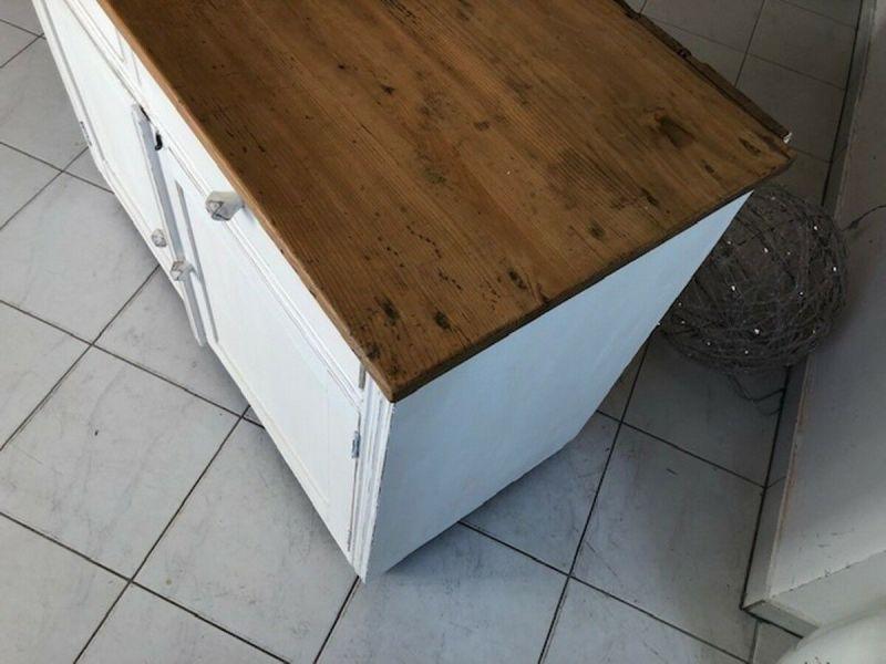 Bäuerliche Anrichte Sideboard Kommode Naturholz Z1094 4