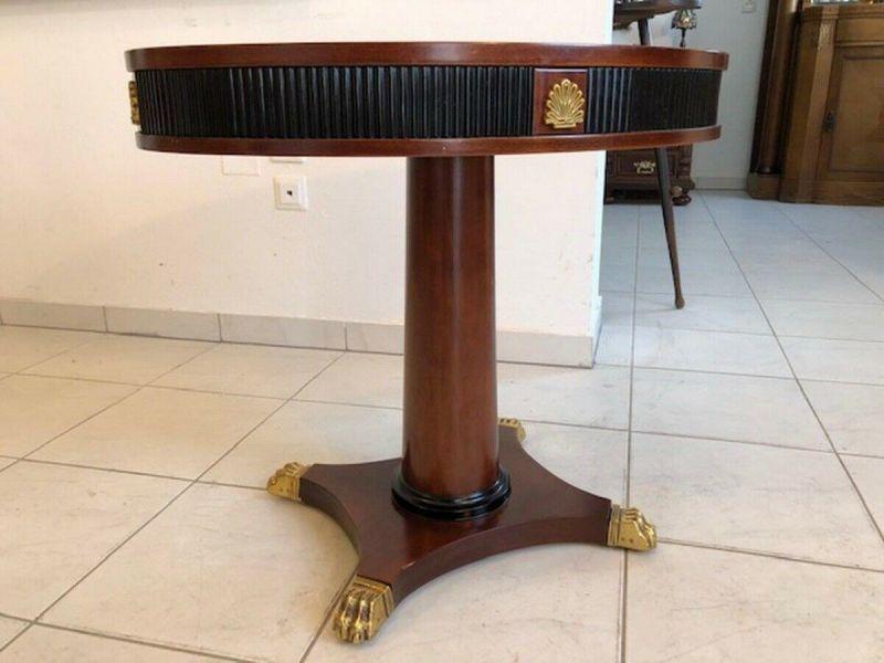 Hübsches Tischerl im Stile des Barock Beistelltisch Z1179