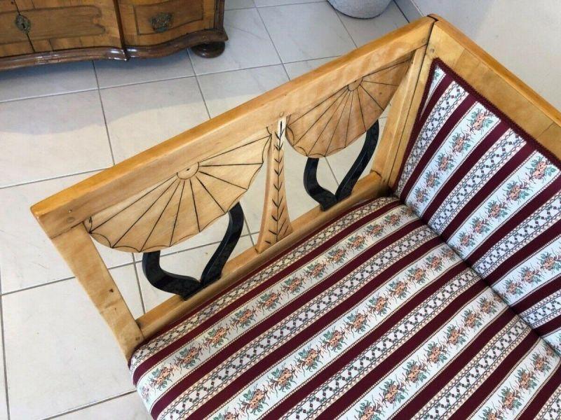 Originales restauriertes Biedermeier Sofa Couch Z1233 7